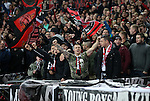 Leverksen's fans get behind their side during the Champions League group E match at the Wembley Stadium, London. Picture date November 2nd, 2016 Pic David Klein/Sportimage