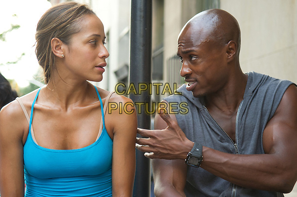 Dania Ramirez & Wole Parks.in Premium Rush (2012).*Filmstill - Editorial Use Only*.CAP/FB.Supplied by Capital Pictures.