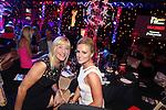 Jennifer Gibney with Amanda O'Carroll.<br /> Celebrity Cup Gala Dinner<br /> Celtic Manor Resort<br /> 05.07.14<br /> &copy;Steve Pope-SPORTINGWALES