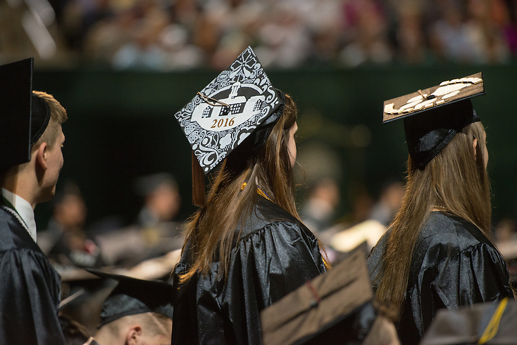 Undergraduate Commencement. Photo by Ben Siegel