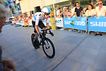 David De La Cruz (ESP) Team Sky during Stage 1 of the La Vuelta 2018, an individual time trial of 8km running around Malaga city centre, Spain. 25th August 2018.<br /> Picture: Ann Clarke | Cyclefile<br /> <br /> <br /> All photos usage must carry mandatory copyright credit (© Cyclefile | Ann Clarke)