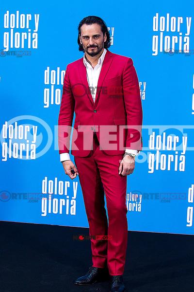 The actor Asier Etxeandia   attends the photocall of the movie 'Dolor y gloria' in Villa Magna Hotel, Madrid 12th March 2019. (ALTERPHOTOS/Alconada) /NortePhoto.con NORTEPHOTOMEXICO