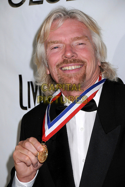 RICHARD BRANSON .6th Annual Living Legends of Aviation Awards at the Beverly Hilton Hotel, Beverly Hills, CA, USA,.22nd January 2009.medal portrait headshot beard facial hair black tuxedo suit .CAP/ADM/BP.©Byron Purvis/Admedia/Capital PIctures