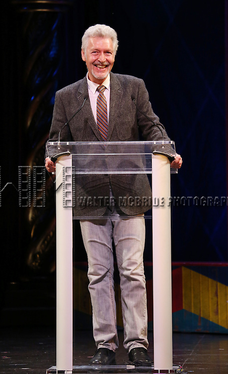 Tony Sheldon during the 69th Annual Theatre World Awards Presentation at the Music Box Theatre in New York City on June 03, 2013.
