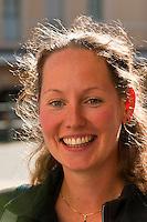 Smiling woman, Grindelwald, Canton Bern, Switzerland