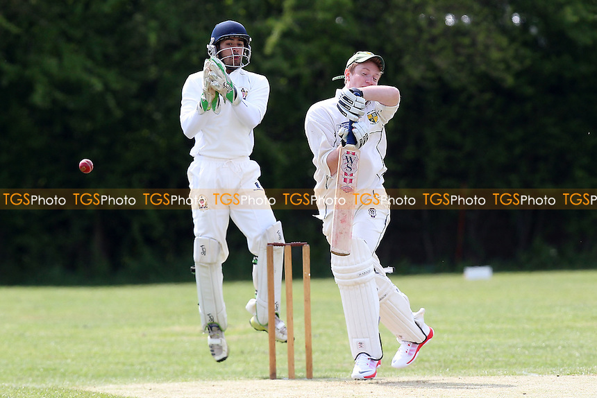 Rayleigh Fairview CC (batting) vs Hornchurch Athletic CC - Mid-Essex Essex Cricket League - 02/05/15 - MANDATORY CREDIT: Gavin Ellis/TGSPHOTO - Self billing applies where appropriate - 0845 094 6026 - contact@tgsphoto.co.uk - NO UNPAID USE