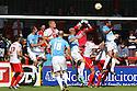 Chris Day of Stevenage punches clear<br />  - Stevenage v Bradford City - Sky Bet League 1 - Lamex Stadium, Stevenage - 31st August, 2013<br />  © Kevin Coleman 2013
