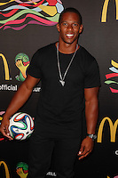 New York, NY -  June 5 : Victor Cruz attends the 2014 FIFA World Cup McDonald's Launch Party at Pillars 38 on June 5, 2014 in New York City. Photo by Brent N. Clarke / Starlitepics