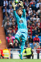 Real Madrid XXX and Celta de Vigo Sergio Alvarez during La Liga match between Real Madrid and Celta de Vigo at Santiago Bernabeu Stadium in Madrid, Spain. May 12, 2018. (ALTERPHOTOS/Borja B.Hojas) /NORTEPHOTOMEXICO