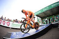 Picture by Simon Wilkinson/SWpix.com 07/09/2017 - Cycling OVO Energy Tour of Britain - Stage 5 - Tendring Stage Individual Time Trial TT Clacton, Essex<br />