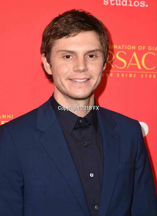 "HOLLYWOOD - JANUARY 8: Evan Peters attends the Red Carpet Premiere Event for FX's ""The Assassination of Gianni Versace: American Crime Story"" at ArcLight Hollywood on January 8, 2018, in Hollywood, California. (Photo by Scott Kirkland/FX/PictureGroup)"