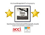 "The photograph ""Swing of Time"" by Michael Knapstein won both a Gold Award and Gallery Award at the San Francisco International Photography Competition. The work will be exhibited during the San Francisco Bay Month of Photography (BayMOP)."