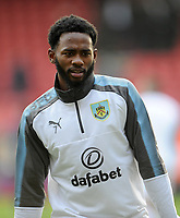 Burnley's Georges-Kevin Nkoudou during the pre-match warm-up <br /> <br /> Photographer Ashley Crowden/CameraSport<br /> <br /> The Premier League - Crystal Palace v Burnley - Saturday 13th January 2018 - Selhurst Park - London<br /> <br /> World Copyright &copy; 2018 CameraSport. All rights reserved. 43 Linden Ave. Countesthorpe. Leicester. England. LE8 5PG - Tel: +44 (0) 116 277 4147 - admin@camerasport.com - www.camerasport.com