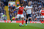 Theo Walcott of Arsenal during the English Premier League match at the White Hart Lane Stadium, London. Picture date: April 30th, 2017.Pic credit should read: Robin Parker/Sportimage