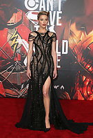 LOS ANGELES, CA - NOVEMBER 13: Amber Heard, at the Justice League film Premiere on November 13, 2017 at the Dolby Theatre in Los Angeles, California. <br /> CAP/MPI/FS<br /> &copy;FS/MPI/Capital Pictures