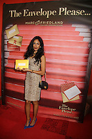 Korinna Rose<br /> at the Making of the Iconic Oscar Winners Envelope, Marc Friedland Couture Communications, Los Angeles, CA 02-26-14<br /> David Edwards/DailyCeleb.Com 818-249-4998