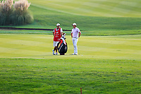 Rory McIlroy (NIR) on the 18th fairway during the 3rd round of the WGC HSBC Champions, Sheshan Golf Club, Shanghai, China. 02/11/2019.<br /> Picture Fran Caffrey / Golffile.ie<br /> <br /> All photo usage must carry mandatory copyright credit (© Golffile | Fran Caffrey)