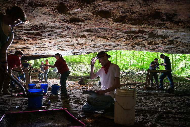 Anthropology, Anthropology Field School, Paul Patton, Research, Sociology & Anthropology, Students