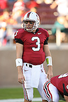 4 November 2006: Garrett Moore during Stanford's 42-0 loss to USC at Stanford Stadium in Stanford, CA.