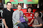 Red Hot World Buffet.Mothers Day - Cardiff..18.03.12..©Steve Pope