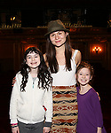 Savvy Crawford, Phillipa Soo and Audrey Bennett during the Actors' Equity Broadway Opening Night Gypsy Robe Ceremony honoring Manoel Felciano for 'Amelie' at the Walter Kerr Theatre on April 3, 2017 in New York City