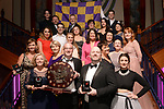 Brian Kelly Wexford Light Opera Musical Society winner of the Best Visual /Gilbert Section for their production of &quot;9 to 5' with fellow members of the society at the Association of Irish Musical Societies annual awards in the INEC, KIllarney at the weekend.<br /> Photo: Don MacMonagle -macmonagle.com<br /> <br /> <br /> <br /> repro free photo from AIMS<br /> Further Information:<br /> Kate Furlong AIMS PRO kate.furlong84@gmail.com