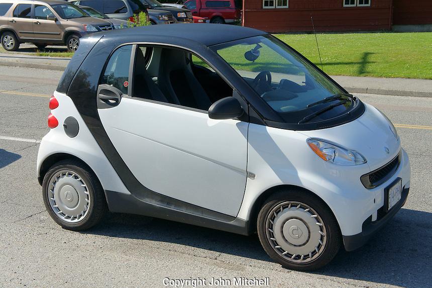 Smart Car fortwo, Vancouver, British Columbia, Canada