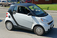 Smart Car fortwo, Vancouver, British Columbia, Canada