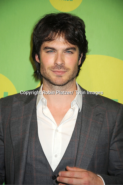 Ian Somerhalder attends the CW Network's 2013 Upfront Presentation on May 16, 2013 at the London Hotel in New York City.