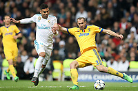Real Madrid's Carlos Henrique Casemiro (l) and Juventus Football Club's Giorgio Chielini during Champions League Quarter-Finals 2nd leg match. April 11,2018. (ALTERPHOTOS/Acero) /NortePhoto.com