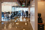 Daniel Negari bought a former Yahoo office to house his business .XYZ. The office has a community kitchen, whiteboard walls, and lots of unique art throughout, seen in Santa Monica, California July 29, 2015. <br /> (Photo by Kendrick Brinson)