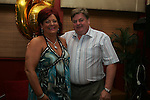 Geraldine Clarke celebrating her birthday in Harry's with her husband Austin....Photo NEWSFILE/Jenny Matthews.(Photo credit should read Jenny Matthews/NEWSFILE)....This Picture has been sent you under the condtions enclosed by:.Newsfile Ltd..The Studio,.Millmount Abbey,.Drogheda,.Co Meath..Ireland..Tel: +353(0)41-9871240.Fax: +353(0)41-9871260.GSM: +353(0)86-2500958.email: pictures@newsfile.ie.www.newsfile.ie.FTP: 193.120.102.198.