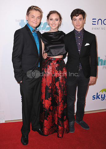 BEVERLY HILLS, CA - JUNE 24:  Reese Hartwig, Ella Wahlestedt and Teo Halm at the 5th Annual Thirst Gala at the Beverly Hilton Hotel on June 24, 2014 in Beverly Hills, California. PGSK/MediaPunch