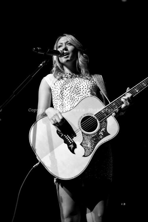 Colbie Caillat live concert at Verizon Theatre on November 1, 2010 in Grand Prairie, TX opening for Sarah McLachlan.
