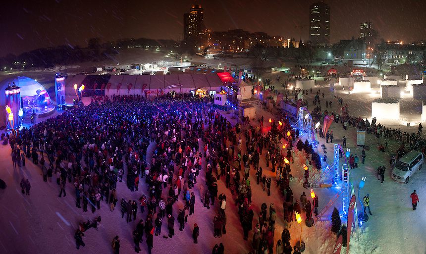 Winter Carnival, Quebec City, Canada
