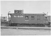 Long caboose #0503.<br /> D&amp;RGW