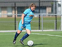 Famkes Westhoek Merkem Diksmuide - Club Brugge Dames A :  Delphine Caron<br /> Foto David Catry | VDB | Bart Vandenbroucke