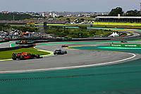 17th November 2019; Autodromo Jose Carlos Pace, Sao Paulo, Brazil; Formula One Brazil Grand Prix, Race Day; Alexander Albon (THA) Scuderia Toro Rosso STR14  - Editorial Use