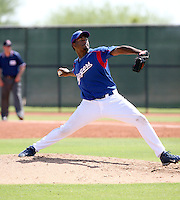 Fabio Castillo / Texas Rangers 2008 Instructional League..Photo by:  Bill Mitchell/Four Seam Images
