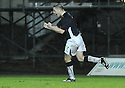 10/01/2009  Copyright Pic: James Stewart.File Name : sct_jspa23_falkirk_v_qots.GRAHAM BARRETT CELEBRATES AFTER HE SCORES FALKIRK'S FOURTH.James Stewart Photo Agency 19 Carronlea Drive, Falkirk. FK2 8DN      Vat Reg No. 607 6932 25.Studio      : +44 (0)1324 611191 .Mobile      : +44 (0)7721 416997.E-mail  :  jim@jspa.co.uk.If you require further information then contact Jim Stewart on any of the numbers above.........