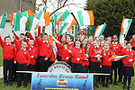 Lourdes Brass Band at the 2011 St.Patrick's Day Parade in Drogheda...(Photo credit should read Jenny Matthews/www.newsfile.ie)....This Picture has been sent you under the conditions enclosed by:.Newsfile Ltd..The Studio,.Millmount Abbey,.Drogheda,.Co Meath..Ireland..Tel: +353(0)41-9871240.Fax: +353(0)41-9871260.GSM: +353(0)86-2500958.email: pictures@newsfile.ie.www.newsfile.ie.