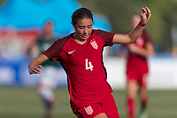 Bradenton, FL - Sunday, June 12, 2018: Talia DellaPeruta during a U-17 Women's Championship Finals match between USA and Mexico at IMG Academy.  USA defeated Mexico 3-2 to win the championship.