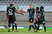 Jay Fulton of Swansea City celebrates scoring the opening goal during the pre-season friendly match between Bristol Rovers and Swansea City at The Memorial Stadium in Bristol, England, UK. Tuesday, 23 July 2019