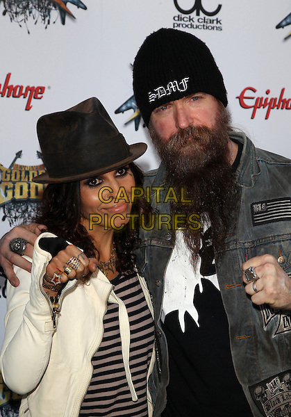 Los Angeles, CA - April 23: Linda Perry, Zakk Wylde Attending 2014 Revolver Golden Gods Awards At Club Nokia  California on April 23, 2014.  <br /> CAP/MPI/RTNUPA<br /> &copy;RTNUPA/MediaPunch/Capital Pictures