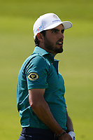 Abraham Ancer (MEX) on the 9th during Round 4 of the Saudi International at the Royal Greens Golf and Country Club, King Abdullah Economic City, Saudi Arabia. 02/02/2020<br /> Picture: Golffile | Thos Caffrey<br /> <br /> <br /> All photo usage must carry mandatory copyright credit (© Golffile | Thos Caffrey)