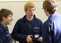 Students, Motor Mechanics, Further Education College.