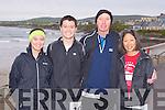 RUN: Taking part in the Kerry Head Half Marathon in Ballyheigue on Sunday l-r: Ellie Webb, Matt Webb, Geoff Webb and Karen Okamoto.