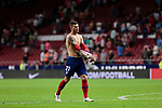 Atletico de Madrid's Lucas Hernandez during La Liga match between Atletico de Madrid and SD Huesca at Wanda Metropolitano Stadium in Madrid, Spain. September 25, 2018. (ALTERPHOTOS/A. Perez Meca)