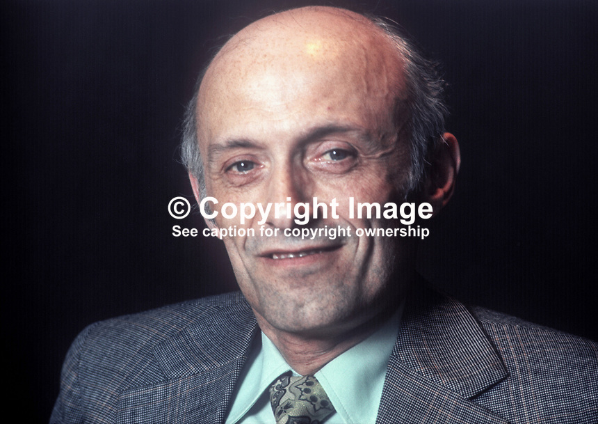 Paschal O'Hare, Belfast, N Ireland, solicitor, SDLP politician, unsuccessful candidate, West Belfast, N Ireland Consitutional Convention Election, May 1975. 197504000289a<br /> <br /> Copyright Image from Victor Patterson, 54 Dorchester Park, Belfast, UK, BT9 6RJ<br /> <br /> Tel: +44 28 9066 1296<br /> Mob: +44 7802 353836<br /> Voicemail +44 20 8816 7153<br /> Skype: victorpattersonbelfast<br /> Email: victor@victorpatterson.com<br /> Email: victorpatterson@me.com (back-up)<br /> <br /> IMPORTANT: If you wish to use this image or any other of my images please go to www.victorpatterson.com and click on the Terms &amp; Conditions. Then contact me by email or phone with the reference number(s) of the image(s) concerned.