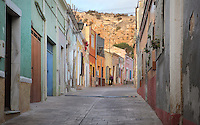 Street with traditional houses near the Alcazaba in Almeria, Andalusia, Southern Spain. Picture by Manuel Cohen